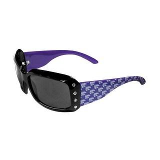 Kansas State Wildcats NCAA Women's Designer Bling Sunglasses