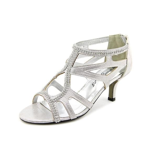 Easy Street Flattery Women Silver WStn Sandals