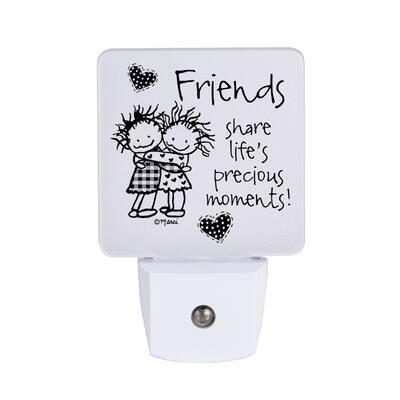 Friends Share Life's Nighlight - Marci Art - 1