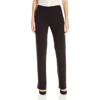 Catherine Malandrino NEW Black Women's Size 12 Stretch Dress Pants