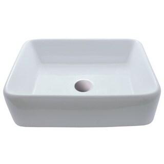 "Miseno MNO-1815-RV 18-3/4"" Vitreous China Vessel Bathroom Sink - Pop-Up Drain Included"