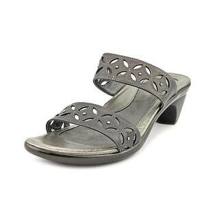 Naot Palace Women Open Toe Leather Slides Sandal