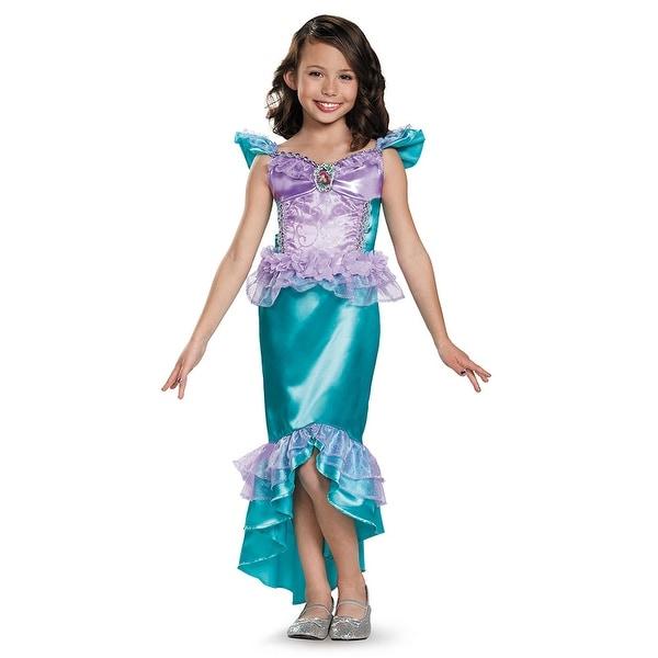 Shop Girls Classic Ariel Disney Princess Costume - Free Shipping On ...