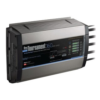 ProMariner ProTournament 360 Quad Charger-36 Amp, 4 Bank - 52038
