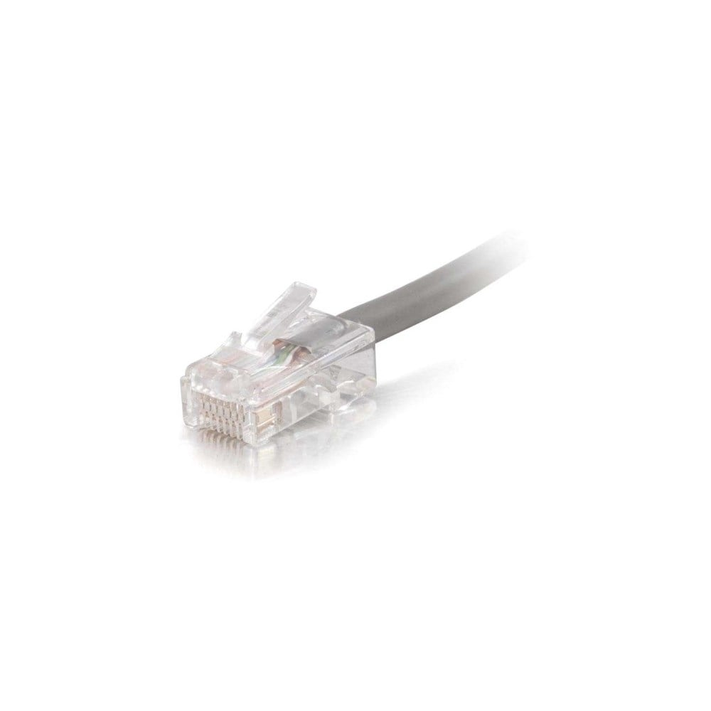 Plenum-Rated C2G 50Ft Cat6 Non-Booted Network Patch Cable Black