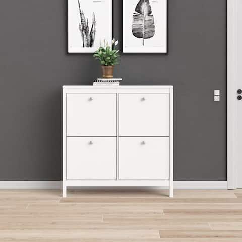 Porch & Den Madrid 4-Drawer Shoe Cabinet