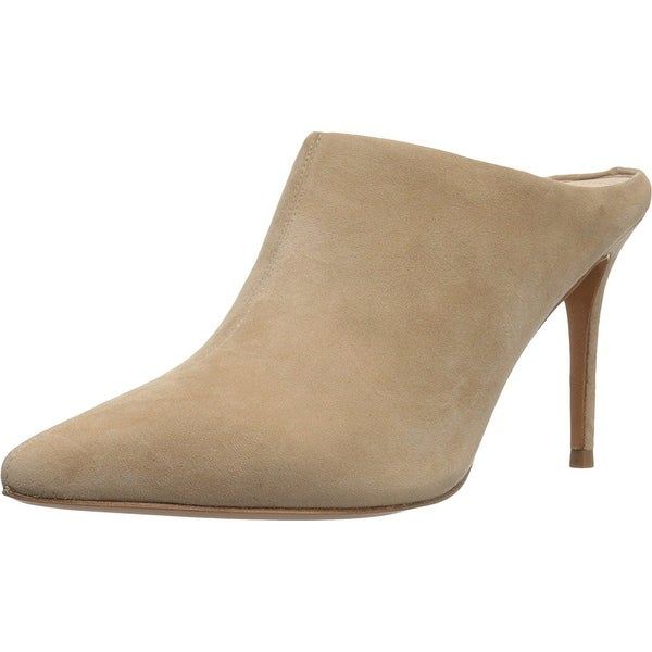 Marc Fisher Womens Tiffy Leather Pointed Toe Classic Pumps