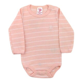 Baby Bodysuit Unisex Striped Bodysuit Style Infants Pulla Bulla Sizes 0-18 Months (5 options available)