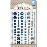 Blue Hues - Double Dot Jewels 86/Pkg