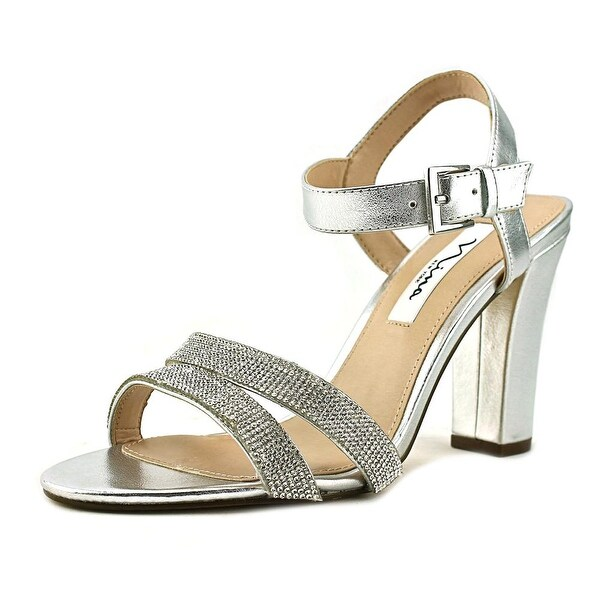 Nina Sylvie Women Silver Sandals