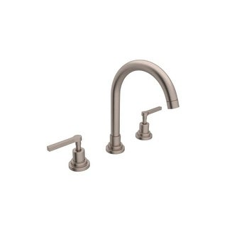 Rohl A2208LM 2 Lombardia Bath Widespread Bathroom Faucet Includes Brass  Pop Up Drain Assembly