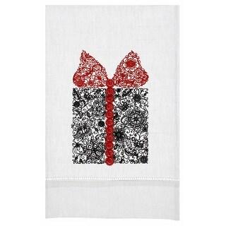 Gift Box PizZazz Linen Tea Towel