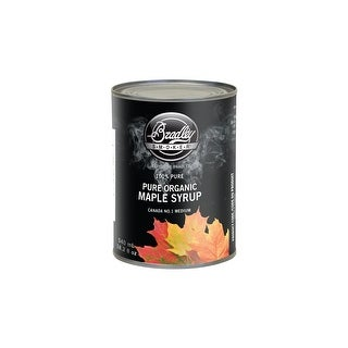 Bradley Smoker Maple Syrup Pure Organic Maple Syrup 540 Ml Grade 1, Medium