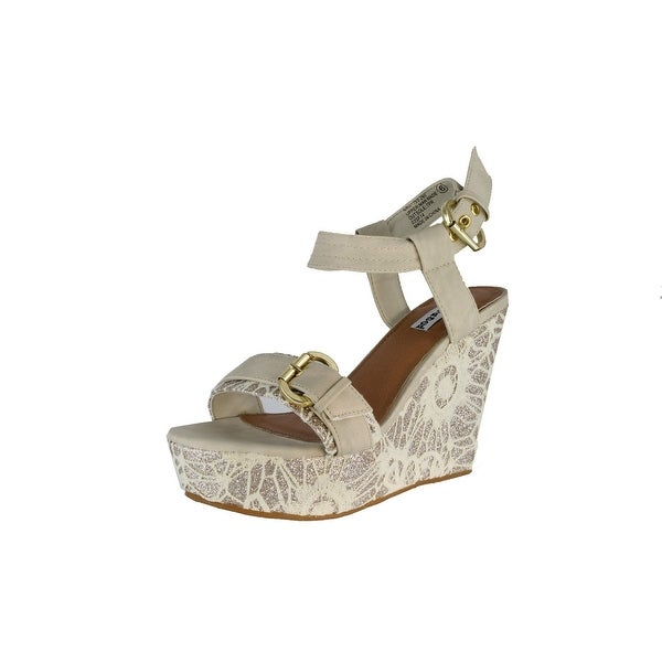 Not Rated Womens Swizzle Fashion Sandals - Cream
