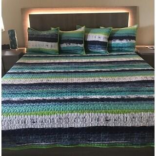 Five Queens Court Cameron Cotton Oversized Quilt
