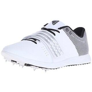 Adidas Womens Adizero TJ/PV Mesh Overlay Lace-Up Running Shoes - 14 medium (b,m)