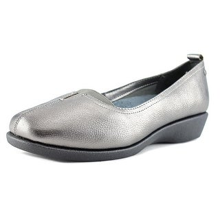Hush Puppies Pearl Carlisle Women Open Toe Leather Wedge Heel