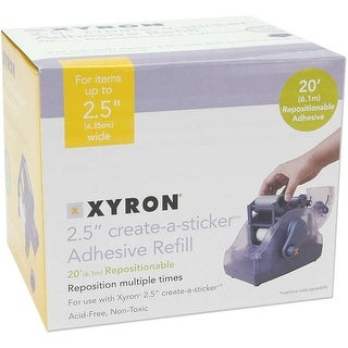 "Xyron 250 Refill Cartridge-2.5""X20' Repositionable"