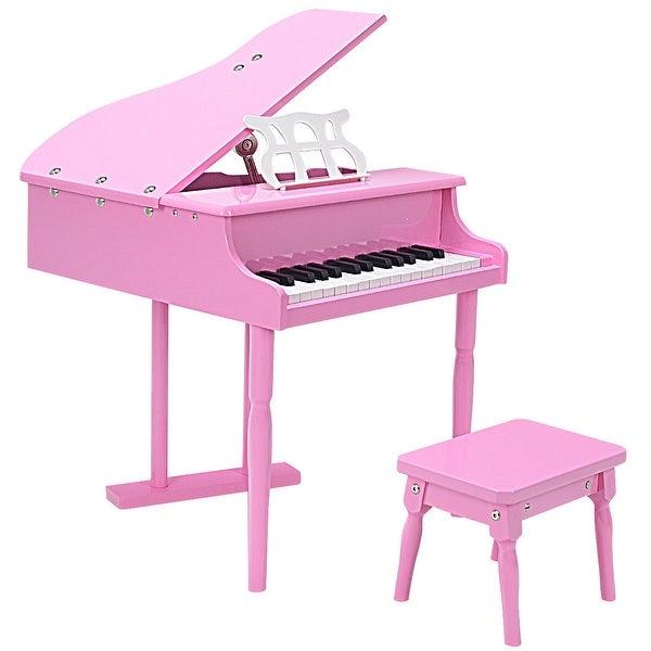 Shop Costway Childs 30 Key Toy Grand Baby Piano W Kids