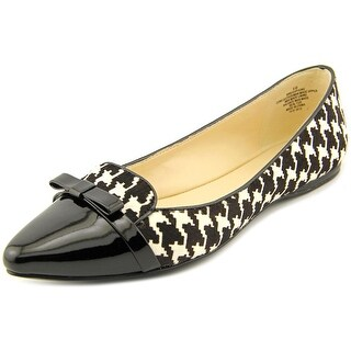 Nine West Saxiphone Women Pointed Toe Suede Black Flats