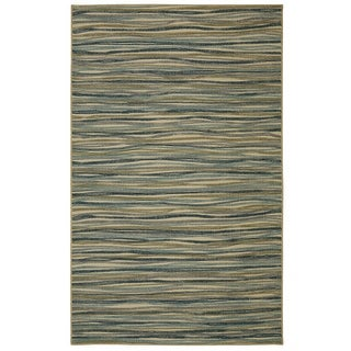 Link to Mohawk Soho Melody Modern Stripe Area Rug (5' x 7') Similar Items in Rugs