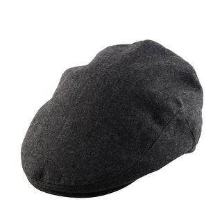 Winter Vintage Style Newsboy Ivy Cap Driving Golf Flat Warm Beret Hat Dark Gray