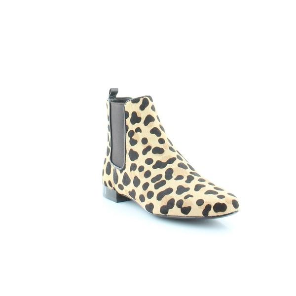 b2288b6f4d3 Shop Tory Burch Orsay Bootie Women's Boots Leopard Print - 5 - Free ...