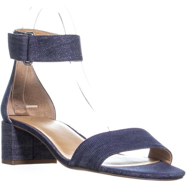88dea2f5a21a Shop Franco Sarto Rosalina Heeled Ankle Strap Sandals