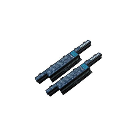 2 Pack Replacement For Acer Aspire 7741Z 4400mAh Laptop Battery AS10D3E