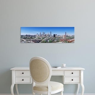 Easy Art Prints Panoramic Images's 'USA, Georgia, Atlanta, skyline' Premium Canvas Art