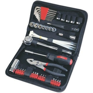 Apollo DT9774 Auto Tool Kit in Zippered Case, 56 Piece