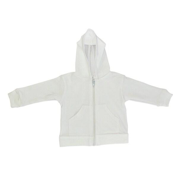 Bambini White Hoodie - Size - Newborn - Unisex