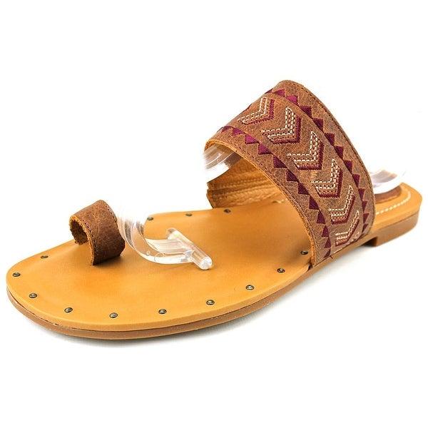 Ariat Copper Creek   Open Toe Leather  Slides Sandal