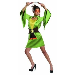Rubie's Womens Michelangelo Superhero Costume Halloween Party - S