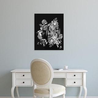 Easy Art Prints Andreas Lie's 'Flora 4' Premium Canvas Art
