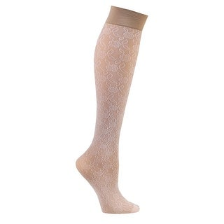 Women's Compression Lace Trouser Socks - Mild 8-15 mmHg