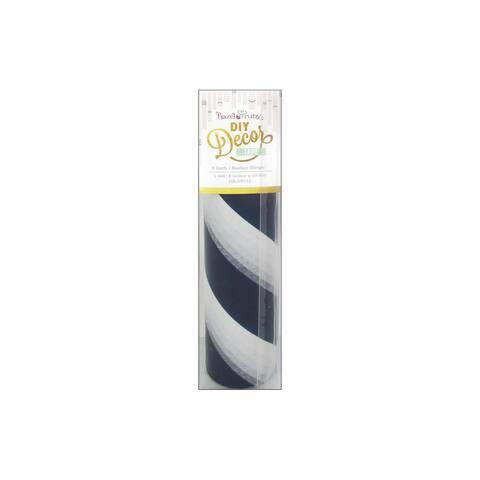 "Hazel & Ruby DIY Decor Tape 8"" Barber Stripes"