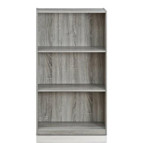 Porch & Den Chrystie Basic 3-shelf Bookcase