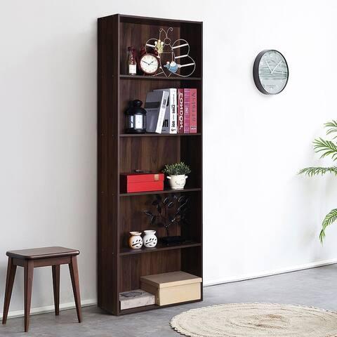 5-Tier Modern Multi- Functional Bookcase Storage Display Bookshelf