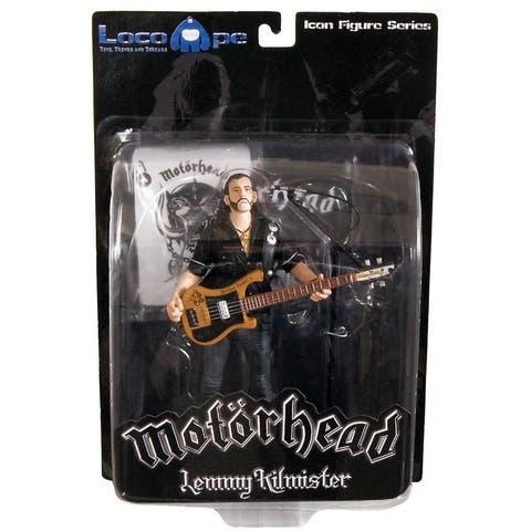"Motorhead Lemmy Kilmister 7"" Icon Figure Guitar Black Pick Guard - multi"