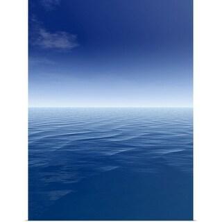 """""""Sea and sky"""" Poster Print"""