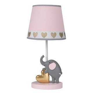 Bedtime Originals Gray Eloise Nursery Lamp & Shade with Bulb