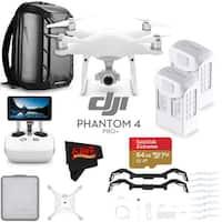 DJI Phantom 4 Pro+ Quadcopter # CP.PT.000549 + DJI Intelligent Flight Battery for Phantom 4 Pro/Pro+ Bundle