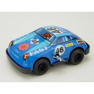 "Vintage Style 4"" Tin Racing Car"