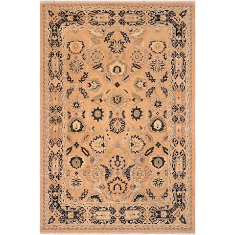 """Bohemien Ziegler Earline Hand Knotted Area Rug -8'2"""" x 10'2"""" - 8 ft. 2 in. X 10 ft. 2 in."""