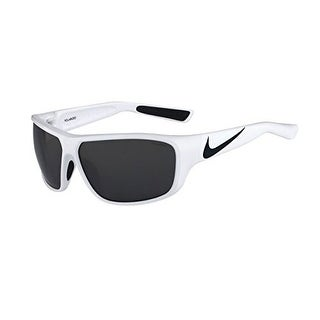 Nike EV0782-104 Sunglasses Mercurial 8.0 White Black Frame Polarized Lens