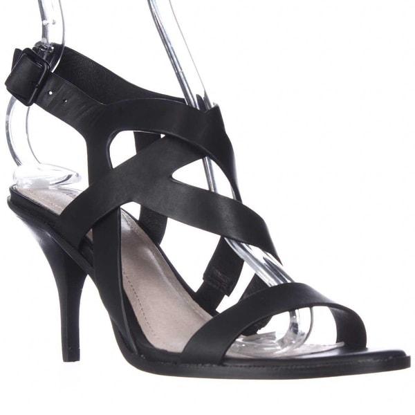 Pour La Victoire Maura Strappy Dress Sandals, Black