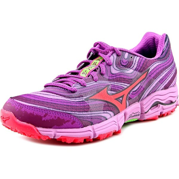 Mizuno Wave Kazan Women Round Toe Synthetic Purple Running Shoe