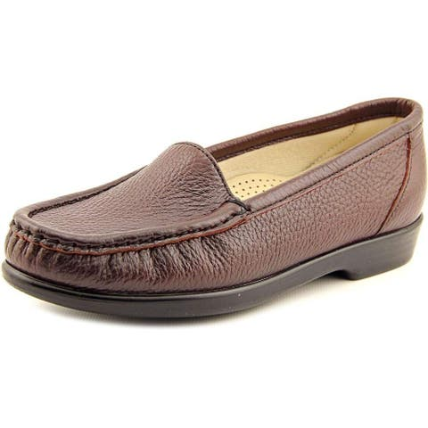 SAS Womens Simplify Leather Closed Toe