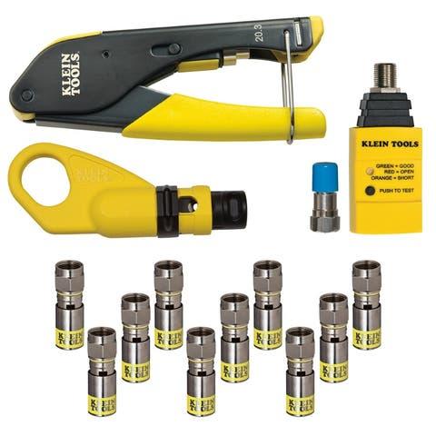 Klein Tools VDV002-818 Coax Installation & Testing Kit